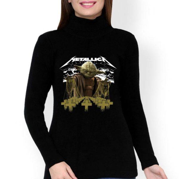 Baby Yoda Star Wars Metallica shirt
