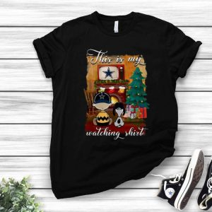 Charlie Brown Dallas Cowboys This Is My Hallmark Christmas Movie shirt