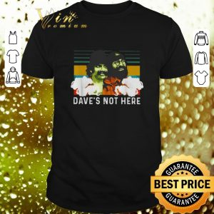 Cheap Cheech and Chong Dave's not here vintage shirt
