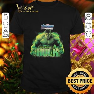 Cheap Marvel Avengers Endgame we have a Hulk shirt