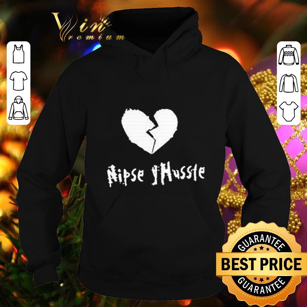 Cheap Nipsey Hussle Crenshaw Hip Hop Rapper Respect and Remember Him shirt