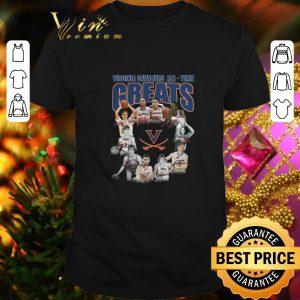 Cheap Virginia Cavaliers all time greats legends all signature shirt
