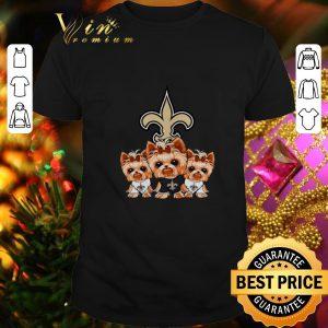 Cheap Yorkshire Terrier New Orleans Saints shirt