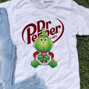 Dr Pepper St 1885 The Grinch Merry Christmas shirt
