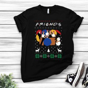 Friends Merry Christmas Santa Ugly Christmas shirt