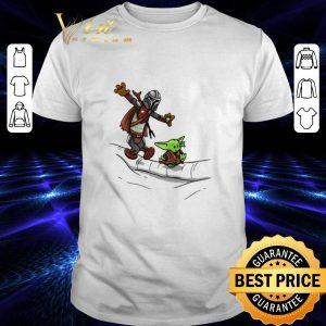 Funny Mando and Baby Yoda Mandalorian shirt