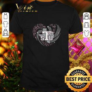 Funny TSU Texas Southern University Tiger Heart shirt