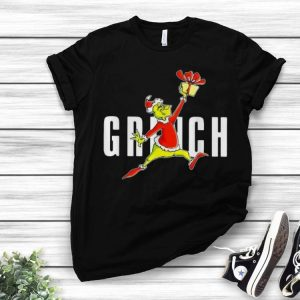 Grinch Santa Slam Dunk Christmas shirt