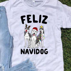 Husky Feliz Navidog Christmas shirt
