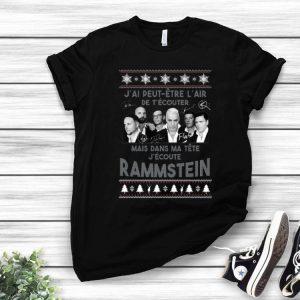 Mais Dans Ma Tête J'ecoute Rammstein Ugly Christmas shirt