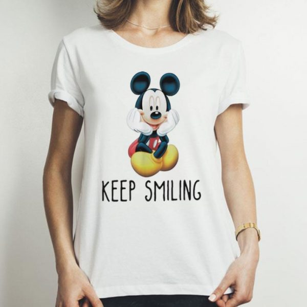 Mickey Mouse Keep Smiling shirt