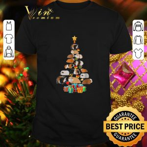 Premium Guinea Pig Christmas tree Pajamas shirt