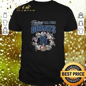 Premium San Diego Padres all time greats signatures shirt