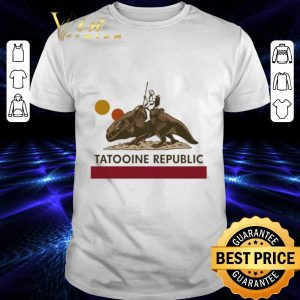 Pretty Star Wars Tatooine republic shirt