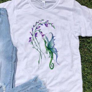 Purple Tulips And Elf Dragon shirt