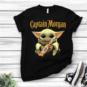 Star Wars Baby Yoda Hug Captain Morgan shirt
