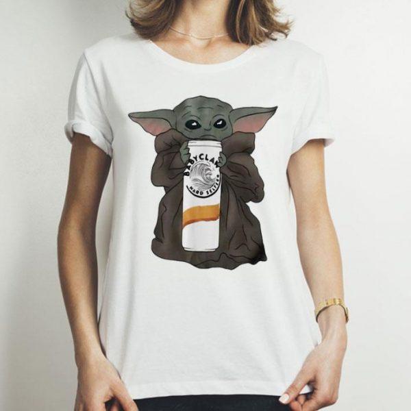 Star Wars Baby Yoda Hug Claw Hard Seltzer shirt
