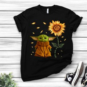 Sunflower Baby Yoda You Are My Sunshine shirt