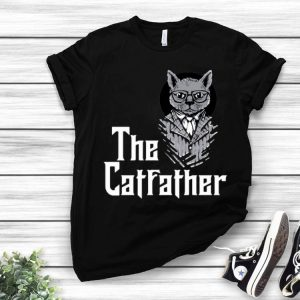 The Catfather Godfather And Cat Lovers shirt