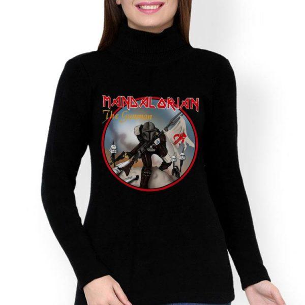 The Iron Maiden Mandalorian The Gunman shirt