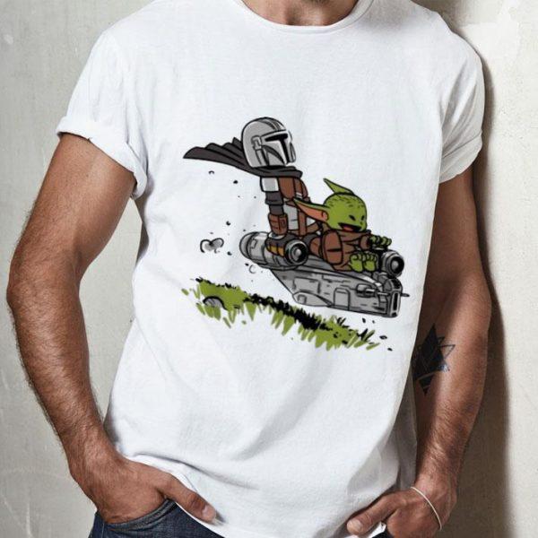 The Mandalorian Vault Mando And Baby Yoda shirt