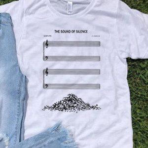 The Sound Of Silence Larghissimo J.S. Zamecnik Music Note shirt