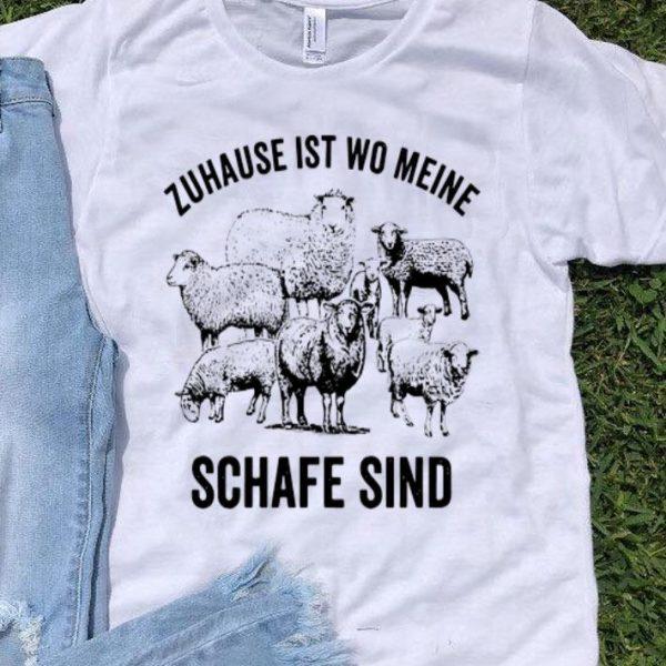 Zuhause Ist Wo Meine Schafe Sind shirt
