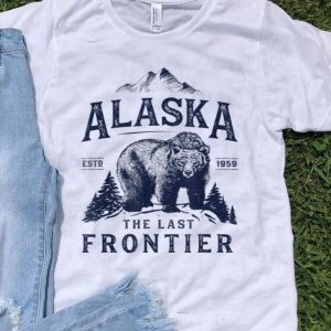 Alaska The Last Frontier Bear Est 1959 shirt