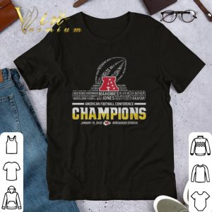 Best Kansas City Chiefs player American football conference Champions shirt
