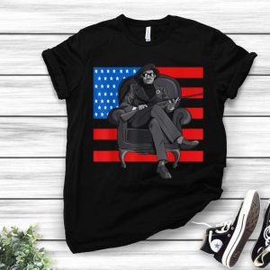 Black History Panther Party American Flag shirt
