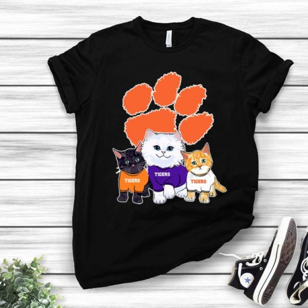 Cats Clemson Tiger Cat Lovers shirt