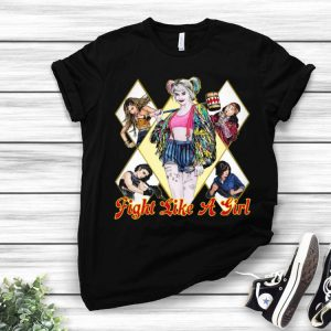 Fight Like A Girl Harley Quinn shirt