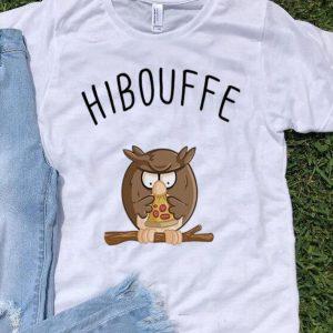 Hibouffe Owl Bird Pizza shirt