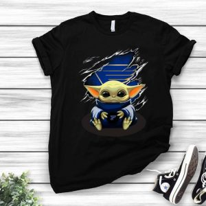 Star Wars Baby Yoda Blood Inside St. Louis Blues shirt