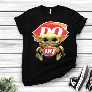 Star Wars Baby Yoda Hug Dairy Queen shirt
