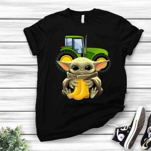 Star Wars Baby Yoda Hug Farmer shirt
