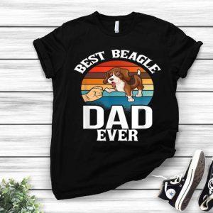 Best Dog Dad Ever Beagle Vintage Dog Lovers shirt