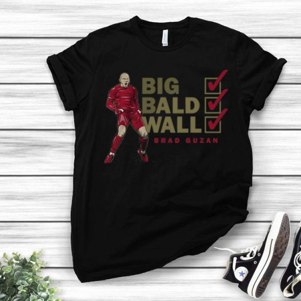 Big Bald Wall Brad Guzan League Atlanta United FC shirt