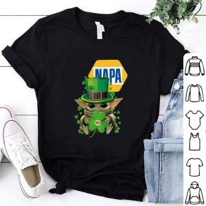 Cheap Baby Yoda Napa St. Patrick's Day Star Wars shirt