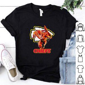 Cheap The Flash DC mashup Kansas City Chiefs Logo shirt