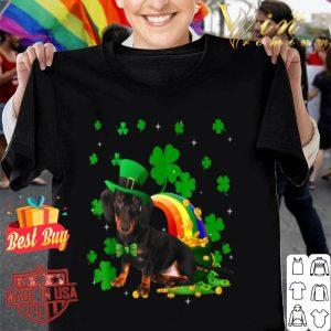 Funny Leprechaun Dachshund Dog Lover St Patricks Day Gifts shirt