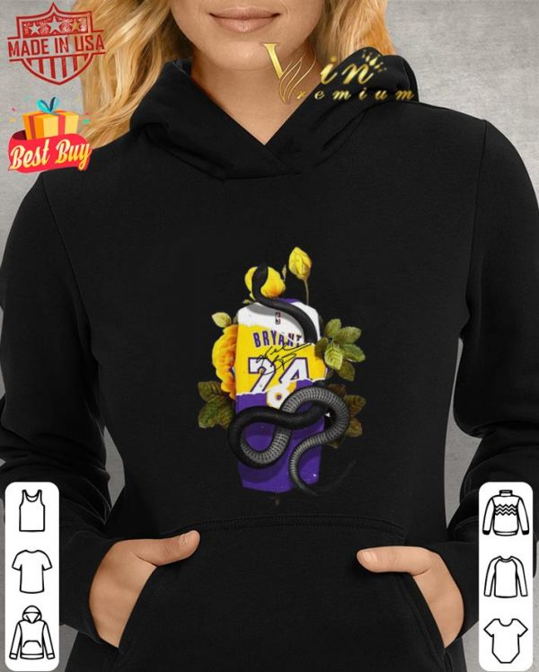 Funny Rip Mamba Kobe Bryant 24 Logo Signature shirt