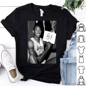 Kobe 81 Los Angeles Lakers NBA shirt