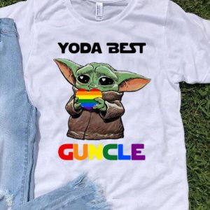 LGBT Star Wars Baby Yoda Best Guncle shirt