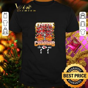 Premium Kansas City Chiefs Super Bowl LIV Champs shirt