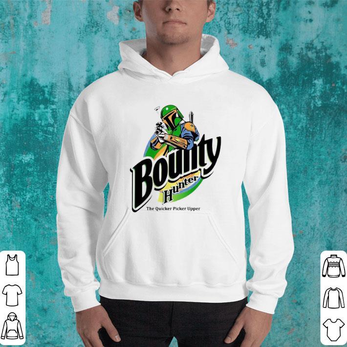 Premium The Mandalorian Bounty Hunter The Quicker Picker Upper shirt 4 - Premium The Mandalorian Bounty Hunter The Quicker Picker Upper shirt