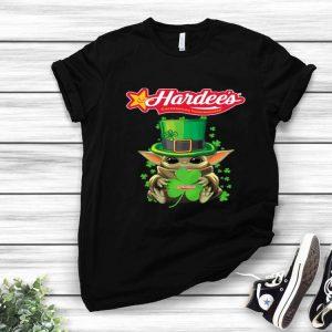 Star Wars Baby Yoda Hardee's Shamrock St.Patrick's Day shirt