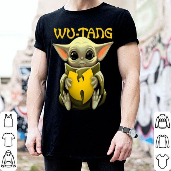 Star Wars Baby Yoda Hug Wu – Tang Clan shirt
