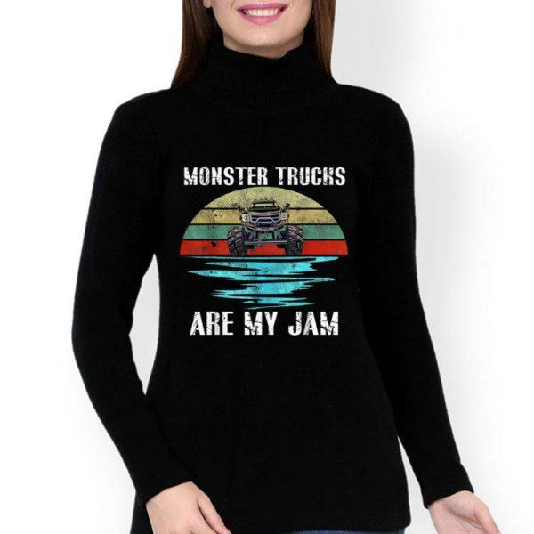 Vintage Sunset Monster Truck Are My Jam shirt
