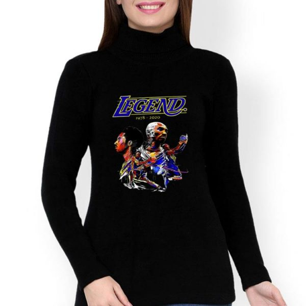 Black Mamba Kobe Bryant Legend 1978-2020 shirt